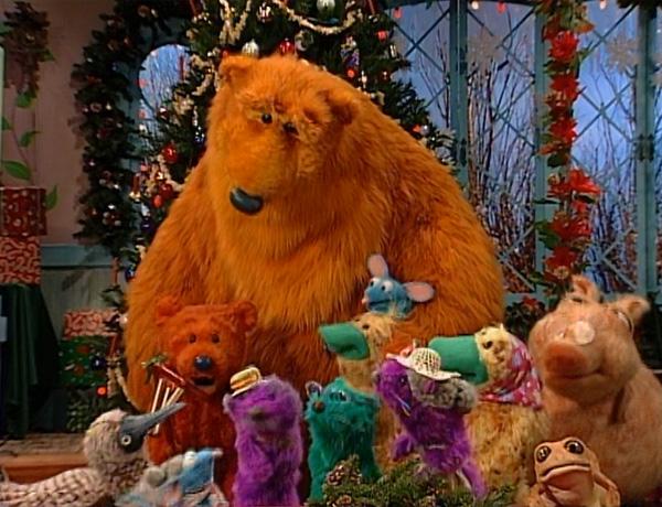 berry bear christmas - Bear In The Big Blue House A Berry Bear Christmas