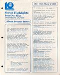 CTW Archives UMD Script Highlights Season 11-12 1331