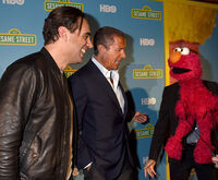 HBO TCA 2016 Bobby Cannavale and HBO Chairman Richard L. Plepler