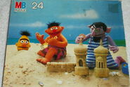 Milton bradley 1985 puzzle beach