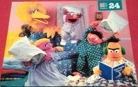 Milton bradley 1995 sleepover puzzle