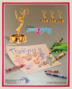 Muppet Babies Emmy Award ad