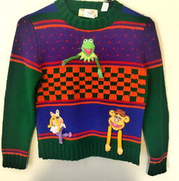 Ruth scharf 1981 muppet sweater 1