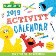 Sesame 2019 calendar 1