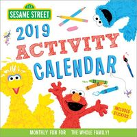 Sesame Street 2019 Activity Calendar