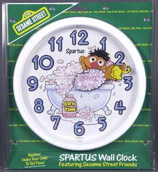 Spartus ernie wall clock