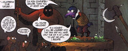 Boiling oil Muppet Robin Hood