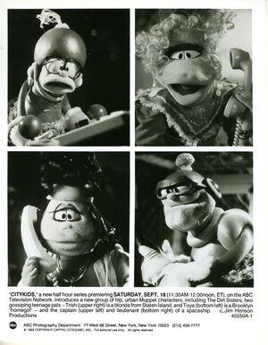 Citykids muppets 1993