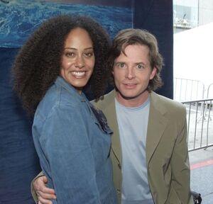 Cree Summer and Michael J Fox
