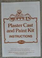 MuppetsPlasterCastandPaintKitInstructions