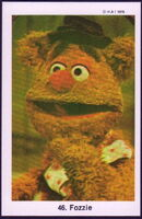 Sweden swap gum cards 46 fozzie