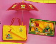 Tara toys 1989 catalog sesame street umbrella