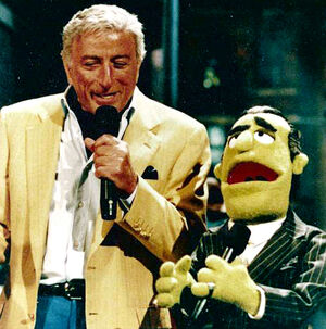 Tony Bennett muppets tonight