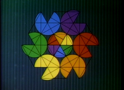 Geometry of Circles 4 - Six Circles Connected