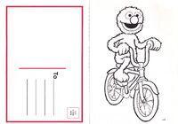 Grover Postcard