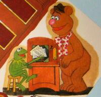 Hallmark 1978 muppet show centerpiece party supplies 5