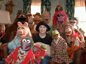 Kristina Donnelly and The Muppets