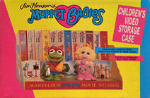 Muppet Babies video storage case 01