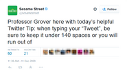 Professor Grover Tweet December 2009