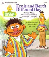 Ernie and Bert's Different Day