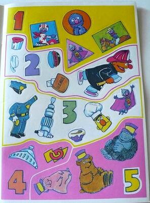 Grover sticker book 2