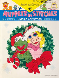 Muppets in Stitches Christmas front