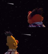 Sesamestrasse Ernie Bert shooting star