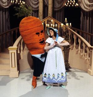 Seven-foot-tall Talking Carrot
