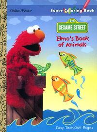 1996 elmos book of animals