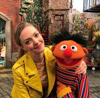 Amanda Seyfried and Ernie