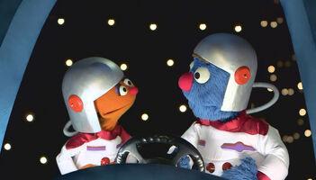 Chamki and Googly astronauts Hello Chamki ep01