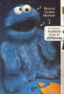 Jc penney 1976 musical cookie monster exclusive knickerbocker 2