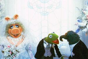 MTM wedding Gonzo altar