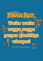 Poster Fraggle Rock-Weeba Weeba Woppa Woppa