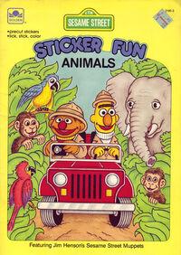 Stickerfun-animals