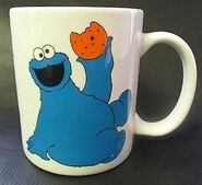 Sesame street general store mug eat cookies 1