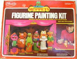 Avalon figurine painting kit 1