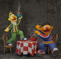 Bert ernie figures