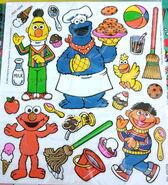 Colorforms talking 1993 press n play 12