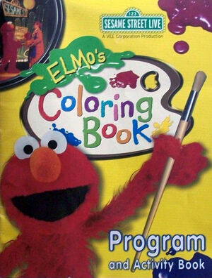 elmoscoloringbookprogramandactivitybook elmoscoloringbookprogramandactivitybook elmos coloring book