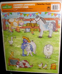 Farmer Grover's County Fair 1988 Puzzle