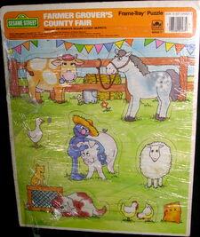 Farmer Grover's County Fair 1988 Puzzle