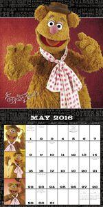 Muppet 2016 calendar c