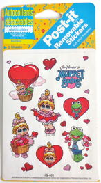 Post-it 1990 muppet babies stickers 1