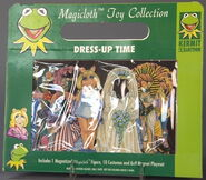 Schilling magnetic magicloth paper doll toy 3