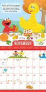 Sesame 2019 calendar 5