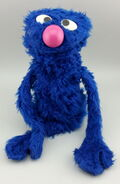 Topper educational toys grover puppet