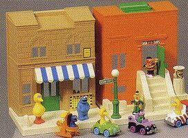 1-2-3 Sesame Street Playset