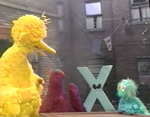 sesame street letter x the x files muppet wiki fandom powered by wikia 23550