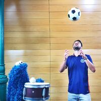 Cookie monster and guaje7Villa